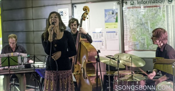 Filippa Gojo Quartett go underground at JazzTube last year.