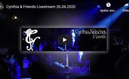 Cynthia Nickschas Livestream 26 April 5pm