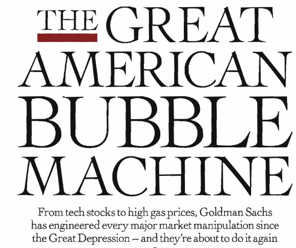 Kathleen Rogers on Goldman Sachs: The Sweet Smell of
