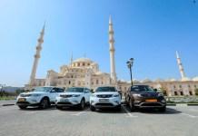 جيلي إمجراند إكس 7 الرياضية الجديدة كلياً تصل إلى دولة الإمارات العربية المتحدة