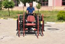 الروبوت العنكبوت...إنسان آلي للكشف عن الألغام ابتكره طلاب في مدرسة تركية