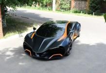هايميرا كيو... أول سيارة كهربائية أوكرانية تقدر قيمتها بنحو 700 ألف يورو