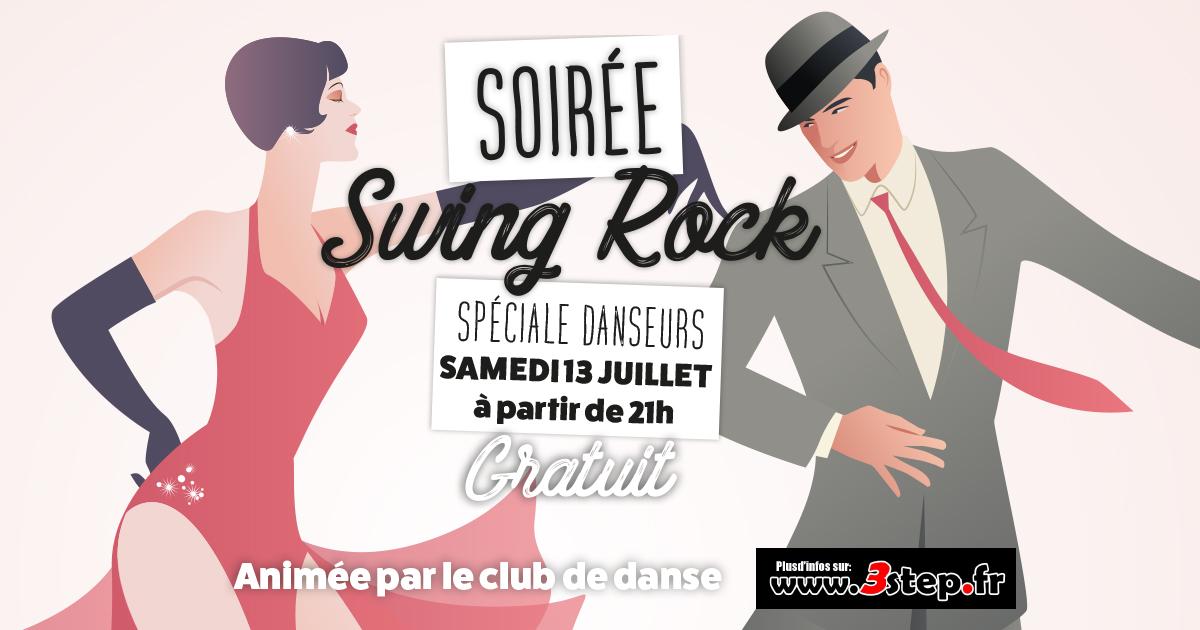3step - Soirée dansante swing rock - Casino d'Argeles-Gazost - samedi 13 juillet 2019