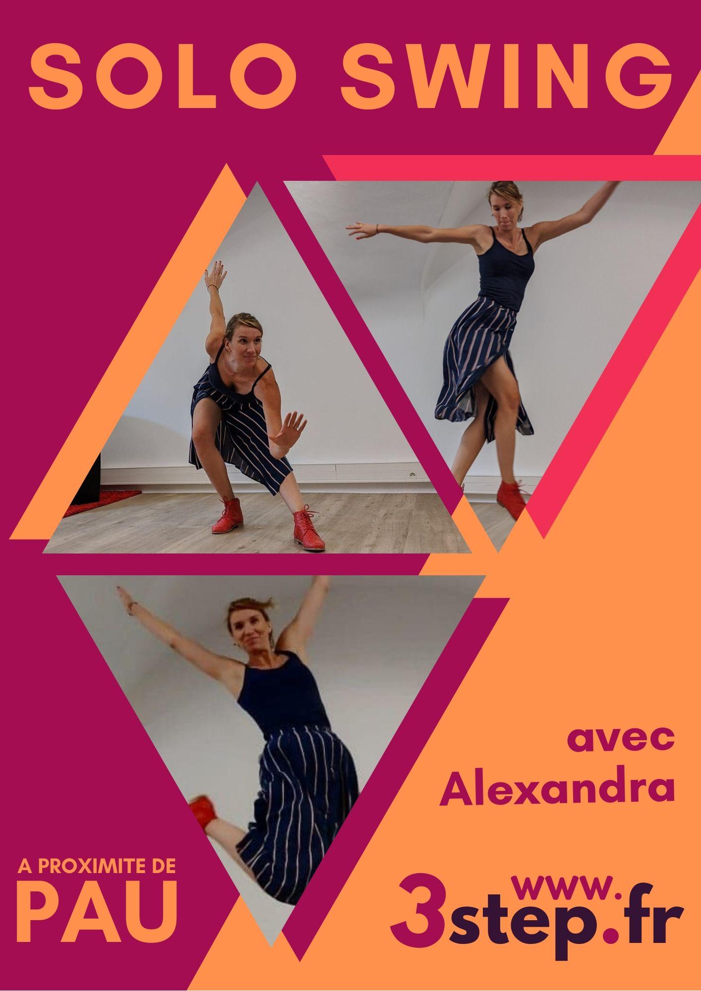 Stages de Solo Swing avec Alexandra