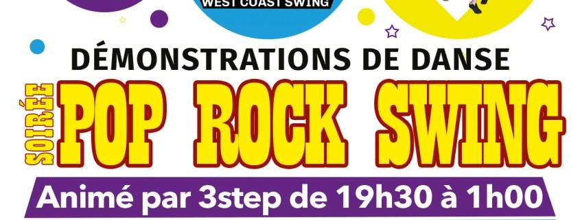 3step - soirée pop rock swing a La Marina - 6 septembre 2019