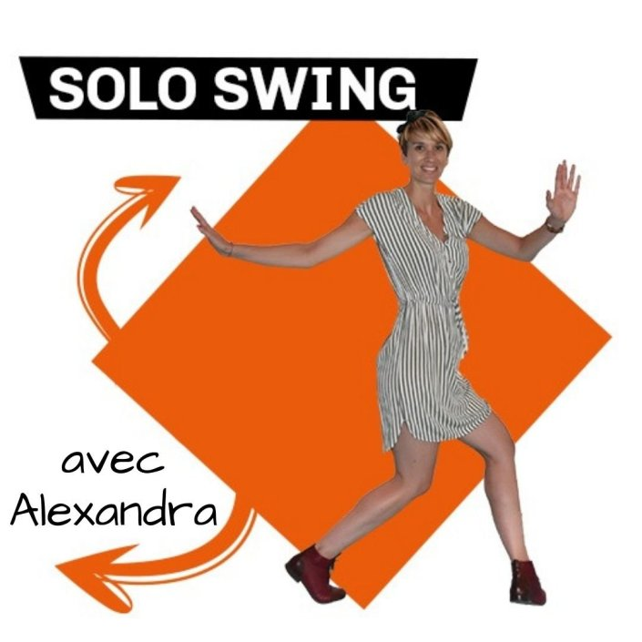 3step cours et stages de solo swing jazz roots routines swing avec Alexandra