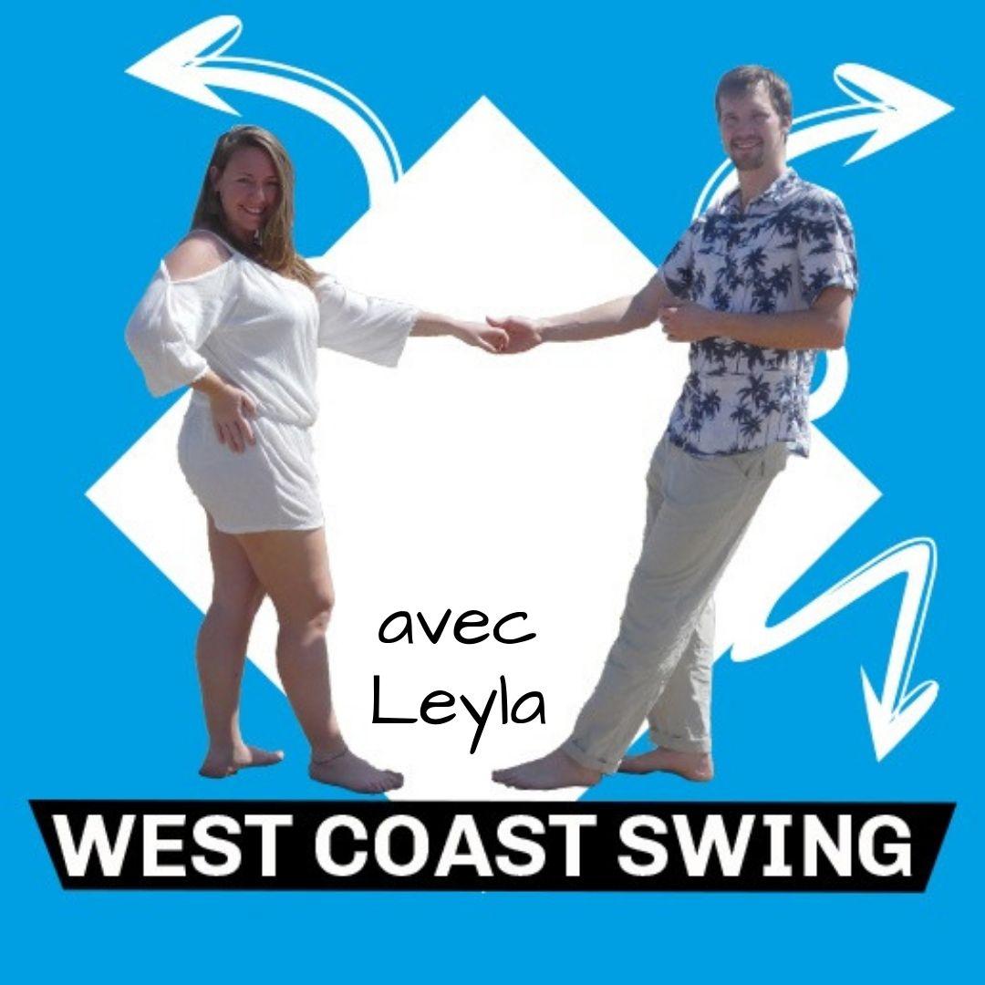 3step cours de west coast swing avec Leyla 2019-2020