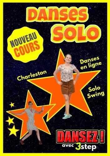 Danses Solo à Pau avec Angela