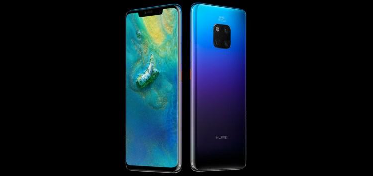 Huawei Mate 20 Pro presentazione