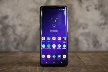 Samsung Galaxy S9 Plus fronte
