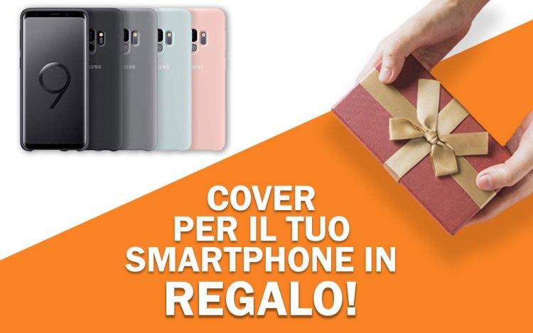 Cover o pellicola di vetro in regalo per Samsung S9