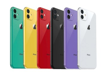 iPhone 11 in varie colorazioni