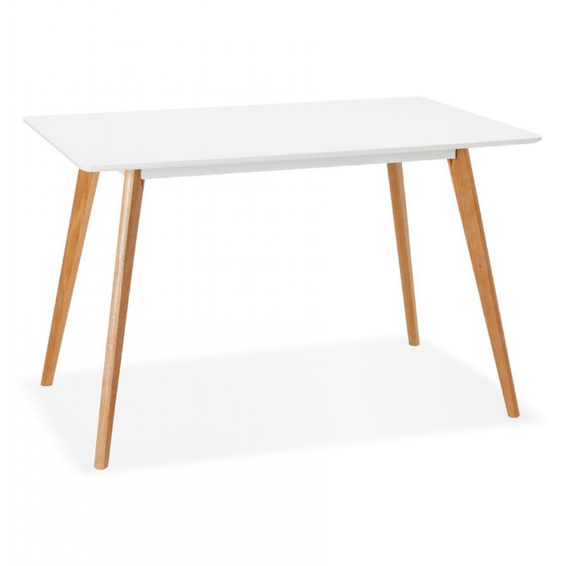 Table Bois Scandinave Plus Récent Table Bois 2 Personnes