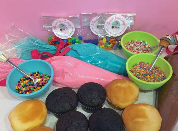 Image result for cupcake decorating party
