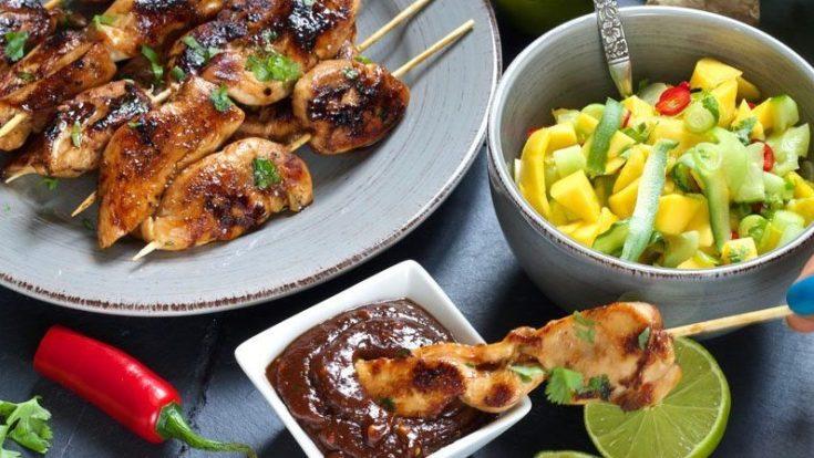 kylling-satay-med-peanottsaus