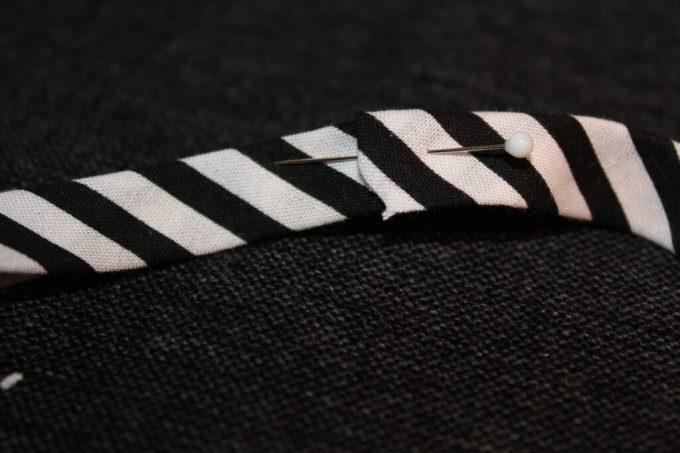 Headbands out of Ribbing/Bias Tape: 3ten.ca