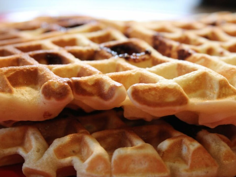 Toblerone Chocolate Waffles: 3ten.ca