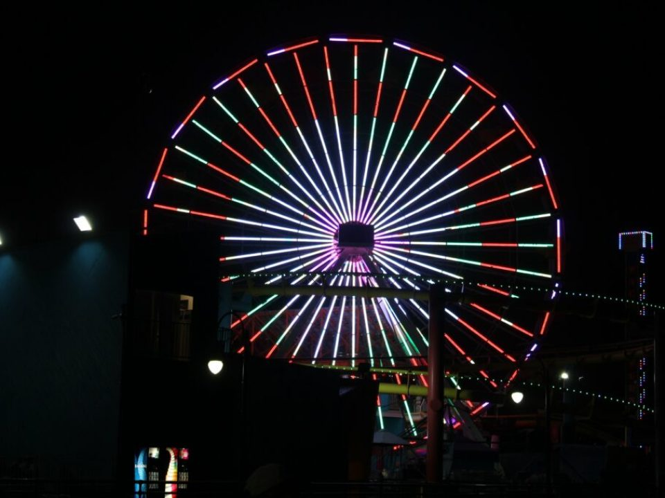 Santa Monica Pier: 3ten.ca