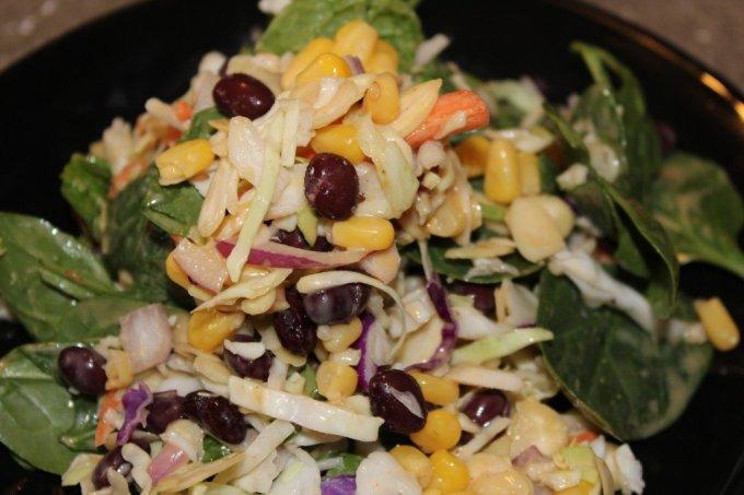 Quick Asian/Mexican Salad: 3ten.ca