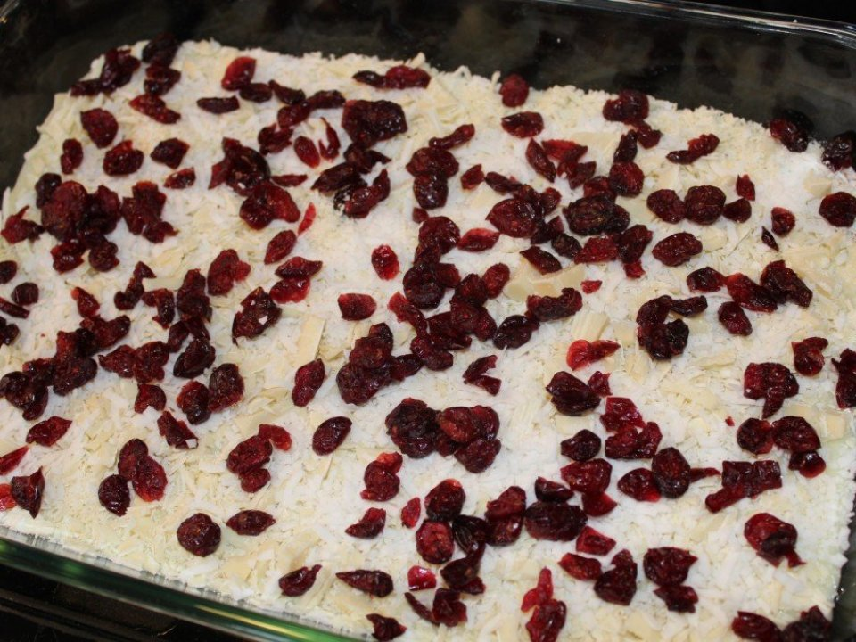 Cranberry Bars: 3ten.ca