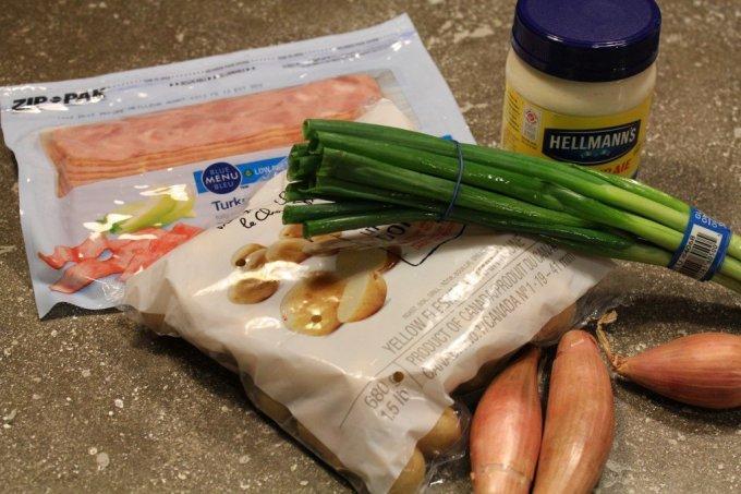 Turkey Bacon Potato Salad: 3ten.ca