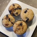 Blueberry Buttermilk Muffins: 3ten.ca #blueberry #muffin