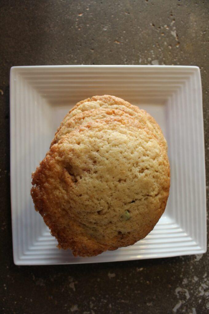 Chewy Smarties Cookies: 3ten.ca #cookies #smarties