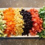 Southwestern Salad: 3ten.ca #salad #southwestern