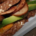 Bacon and Avocado Grilled Cheese: 3ten.ca #BAC #lunch #bacon #avocado