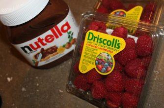 Recipe Raspberry Nutella Waffles 3ten
