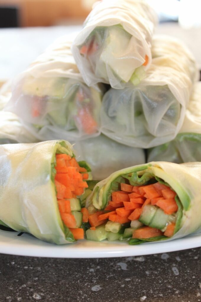Salad Rolls: 3ten.ca