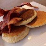 Homemade Pancakes and Bacon: 3ten.ca #bacon #pancakes #breakfast