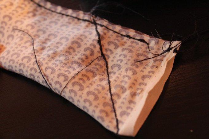 Bow Tie Jersey Shirt: 3ten.ca #sewing #jersey #diy