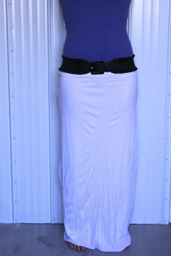 Maxi Skirt: 3ten.ca #tutorial #sewing #maxiskirt #summer