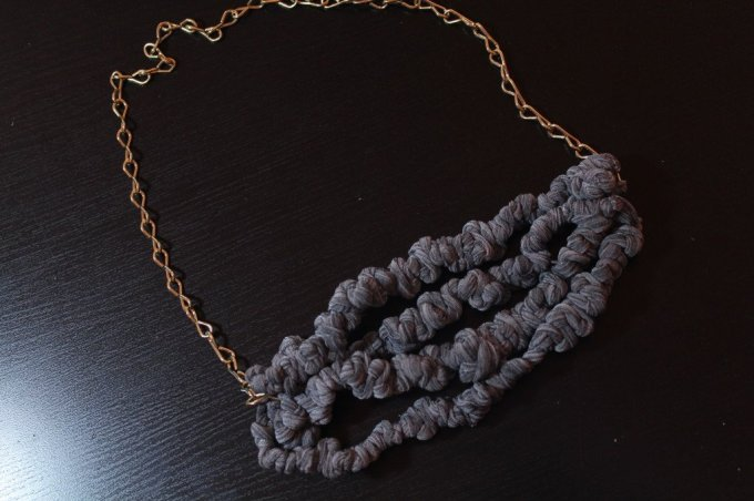 DIY Fabric Necklaces: 3ten.ca