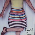 Pleated Skirt: 3ten.ca
