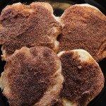 Churro Pancakes: 3ten.ca #pancake #breakfast