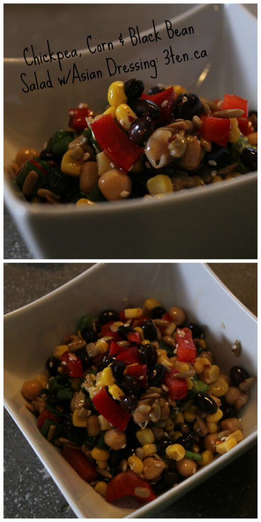Chick Pea Asian Salad: 3ten.ca #salad