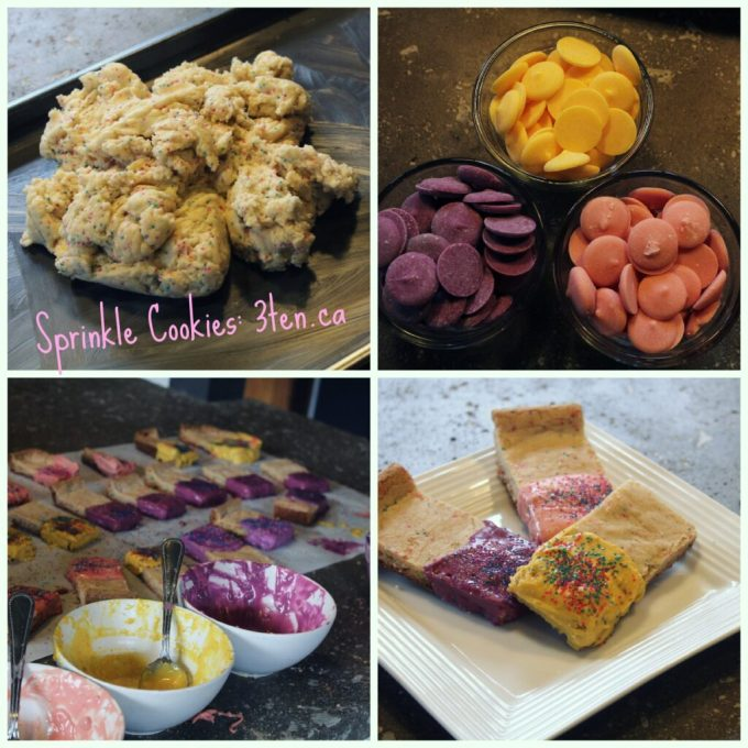 Sprinkle Cookies: 3ten.ca #cookies