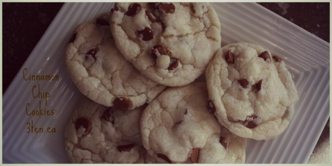 Cinnamon Chip Cookies: 3ten.ca