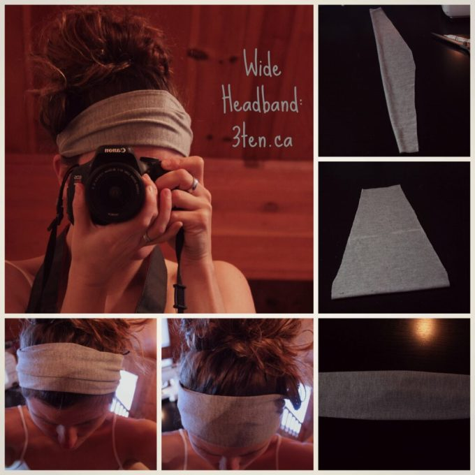 Wide Headband: 3ten.ca