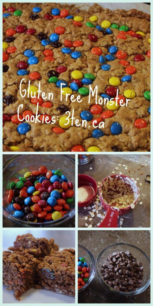 Gluten Free Monster Cookies: 3ten.ca