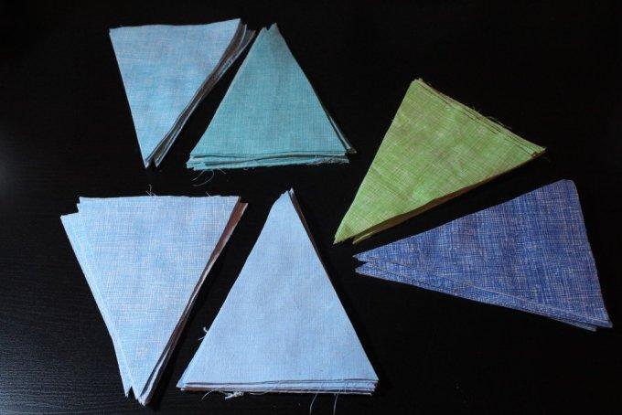 Triangle Quilt: 3ten.ca