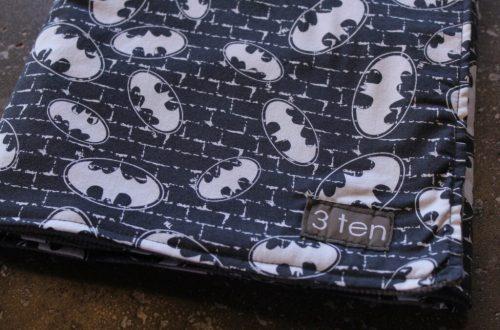Batman Baby Blanket: 3ten.ca