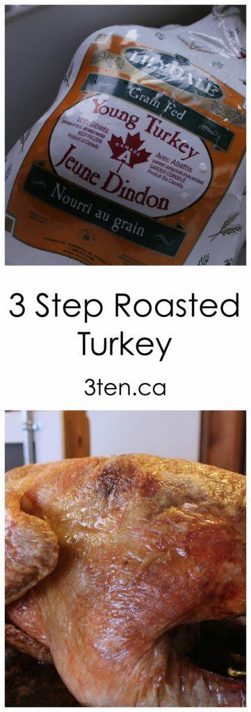 3 Step Roasted Turkey: 3ten.ca