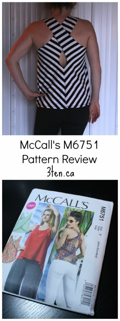 McCall's M6751 Pattern Review: 3ten.ca