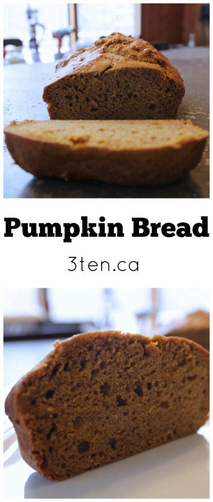 Pumpkin Bread: 3ten.ca