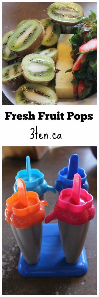Fresh Fruit Pops: 3ten.ca
