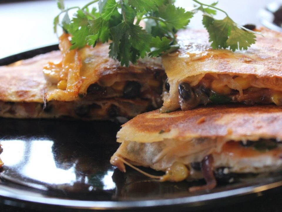 Black Bean Quesadilla: 3ten.ca
