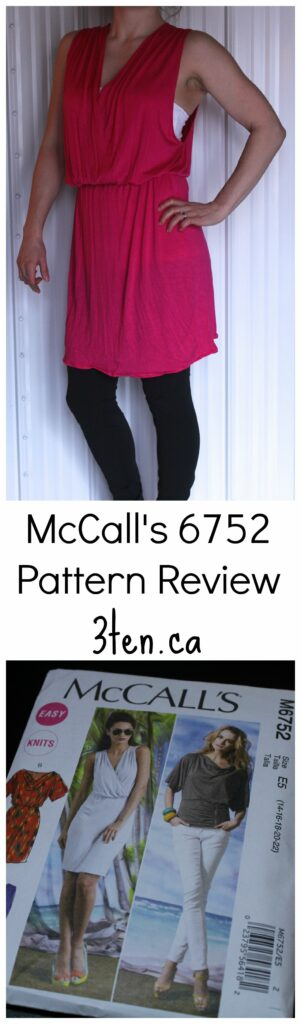 McCalls 6752 Pattern Review: 3ten.ca